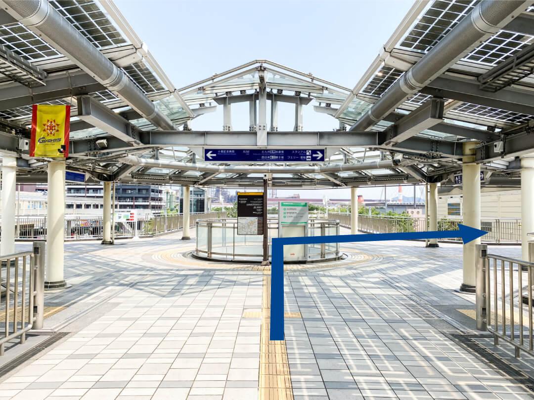 小倉駅からAIMビルまでの行き方⑥