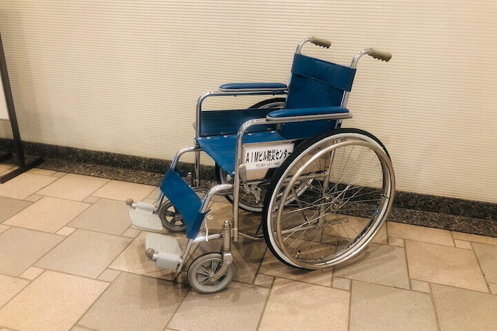 車椅子の貸し出し